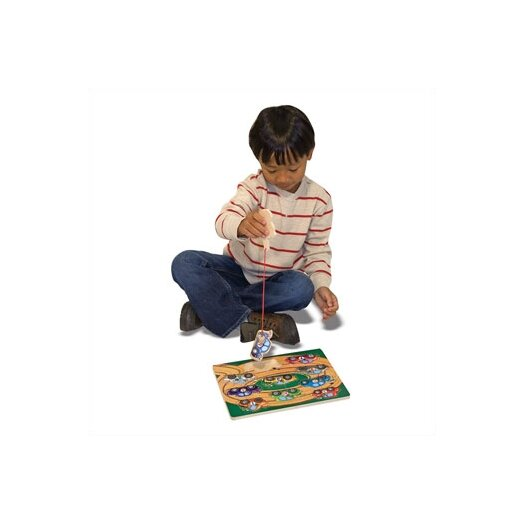 Melissa and Doug Towing Game Magnetic Puzzle