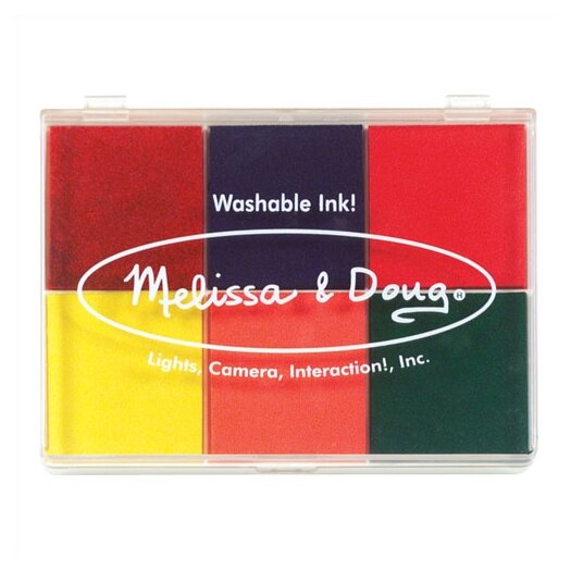 Melissa and Doug Rainbow Stamp Pad Arts & Crafts Kit