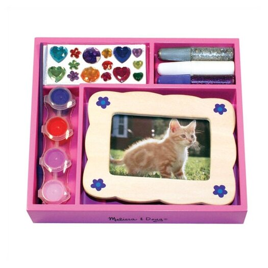 Melissa and Doug DYO Picture Frame Arts & Crafts Kit