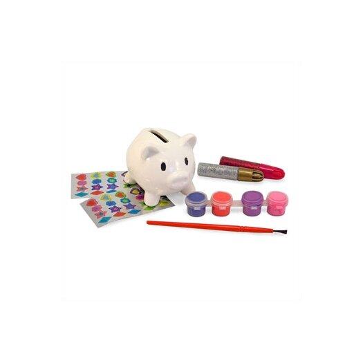 Melissa and Doug DYO Piggy Bank Arts & Crafts Kit