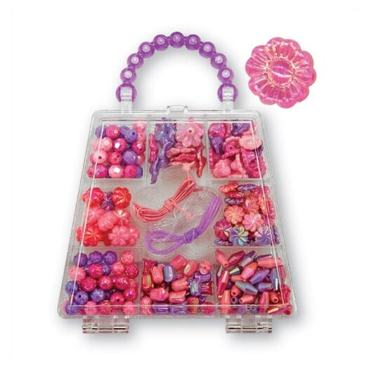 Melissa and Doug Polished Petals Bead Set Arts & Crafts Kit