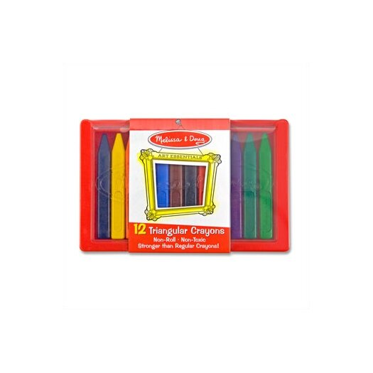 Melissa and Doug Triangular Crayons
