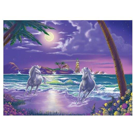 Melissa and Doug Seaside Stallions Cardboard Jigsaw Puzzle