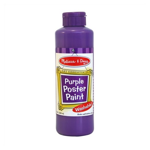 Melissa and Doug Purple Poster Paint Bottle