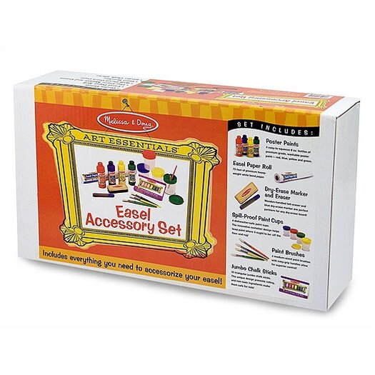 Melissa and Doug 16 Piece Easel Companion Set
