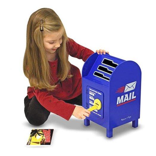 Melissa and Doug Mailbox and Mail Set