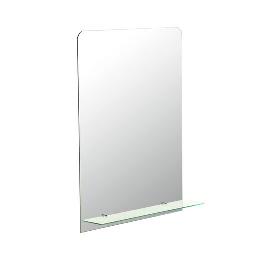 Decor Wonderland Columbus Frameless Wall Mirror