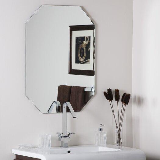 Decor Wonderland Frameless Olivia Wall Mirror