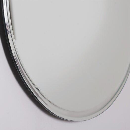 Decor Wonderland Frameless Marisol Wall Mirror