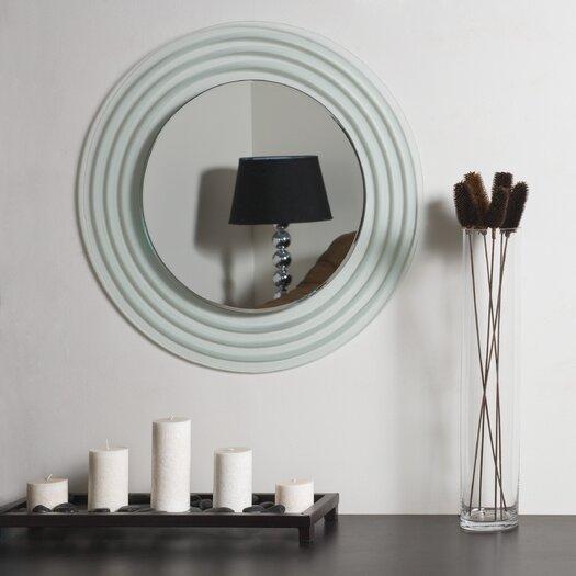 Decor Wonderland Isabella Frameless Wall Mirror