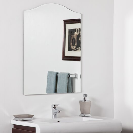 Decor Wonderland Allison Modern Bathroom Mirror