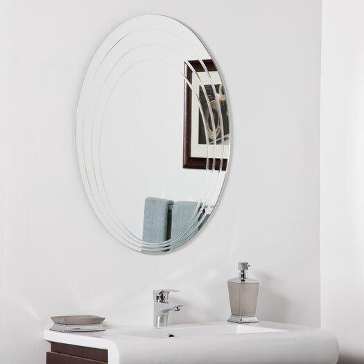 Decor Wonderland Hanna Modern Bathroom Mirror