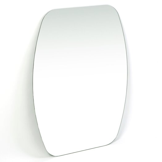 Decor Wonderland Frameless Freddie Wall Mirror