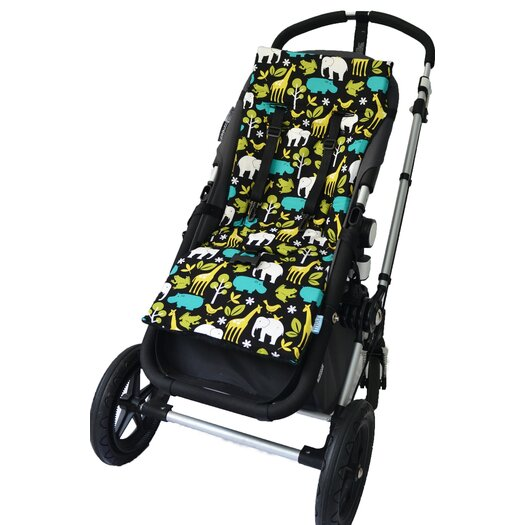 Tivoli Couture Plush Reversible Stroller Liner
