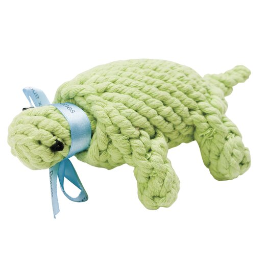 Jax & Bones Ted the Turtle Rope Dog Toy