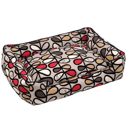 Jax & Bones Vines Lounge Bolster Dog Bed