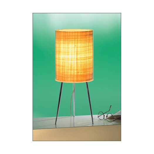 "B.Lux Jackie 54"" H Table Lamp with Drum Shade"
