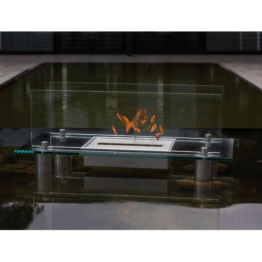 Buschbeck Crystal Bio Ethanol Fireplace