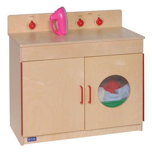 Steffy Wood Products Washer and Dryer Unit