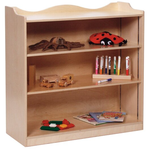 Steffy Wood Products Adjustable Shelf Cabinet