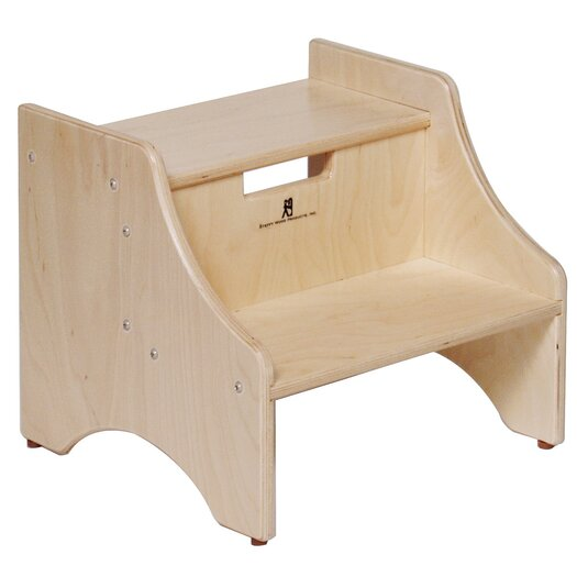 Steffy Wood Products 2-Step Step Stool