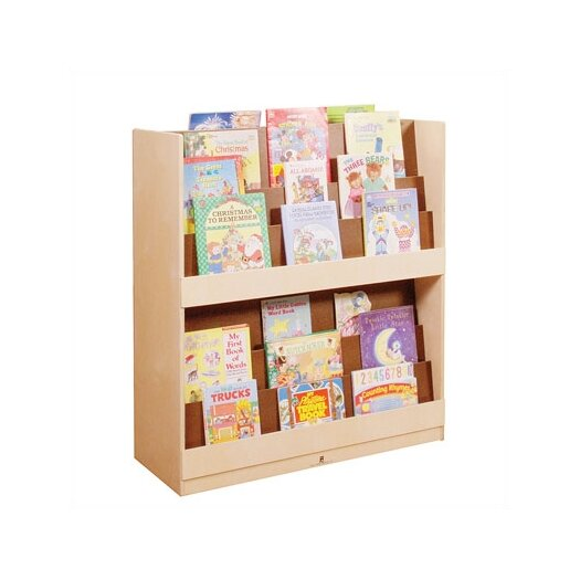 "Steffy Wood Products Double Sided 42.75"" Book Display"