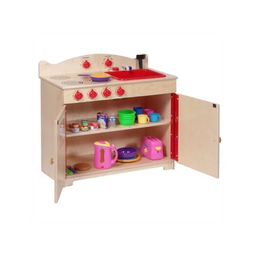 Steffy Wood Products 2-in-1 Heirloom Kitchen