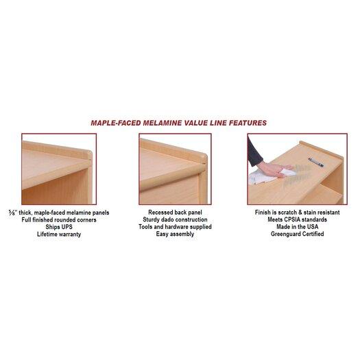 Steffy Wood Products Dress Up Storage