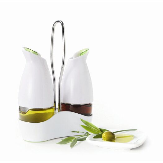 Prepara Gourmet Cruet Set with Carrier