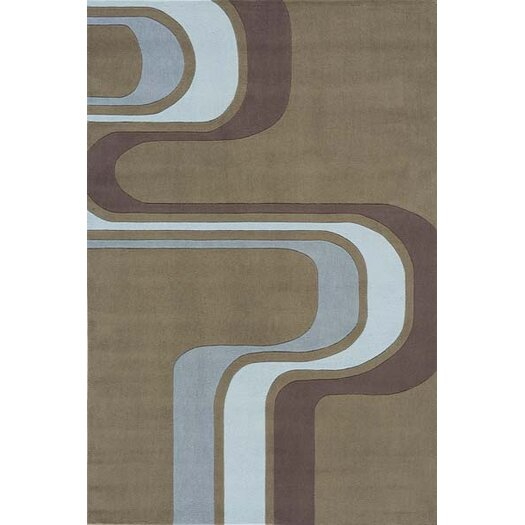 Momeni Lil' Mo Hipster Army Brown Area Rug
