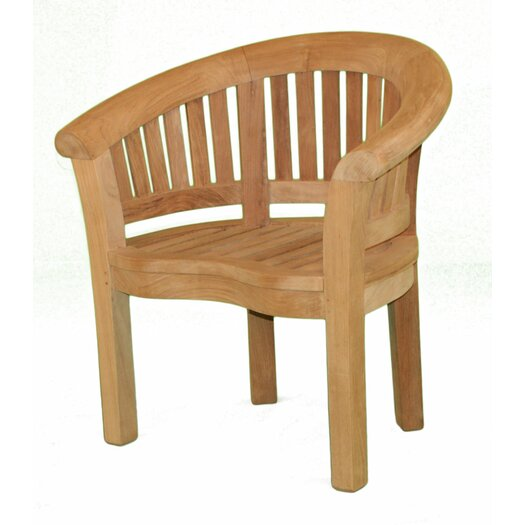 Jewels of Java Half Moon Lounge Chair