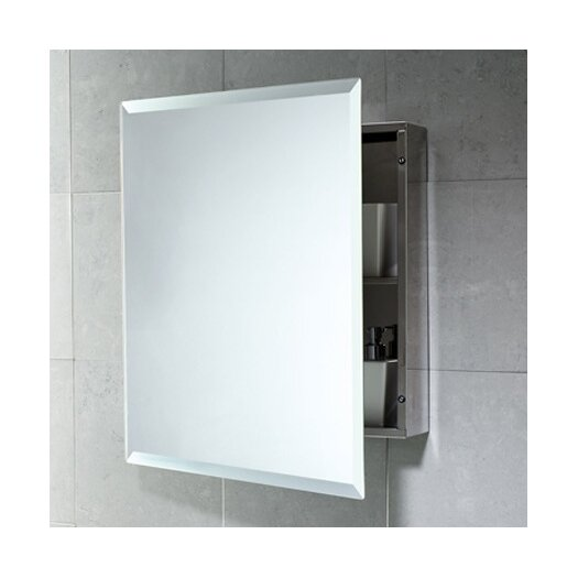 "Gedy by Nameeks Kora 20.1"" x 23.6"" Surface Mounted Medicine Cabinet"