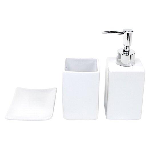Gedy by Nameeks Verbena 3 Piece Bathroom Accessory Set