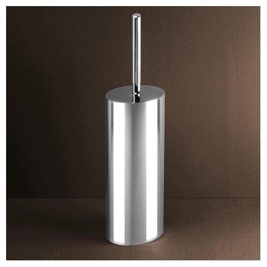 Gedy by Nameeks Texas Toilet Brush Holder in Chrome