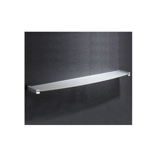 "Gedy by Nameeks Kent 22.24"" x 0.71"" Bathroom Shelf"