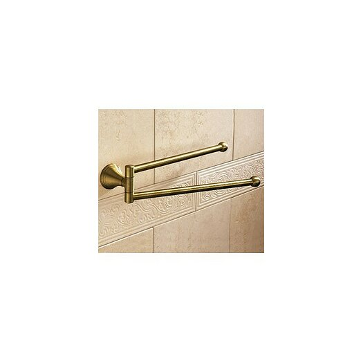 "Gedy by Nameeks Romance 14"" Wall Mounted Double Towel Bar"