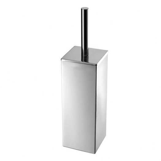 Gedy by Nameeks Nemesia Toilet Brush Holder in Stainless Steel