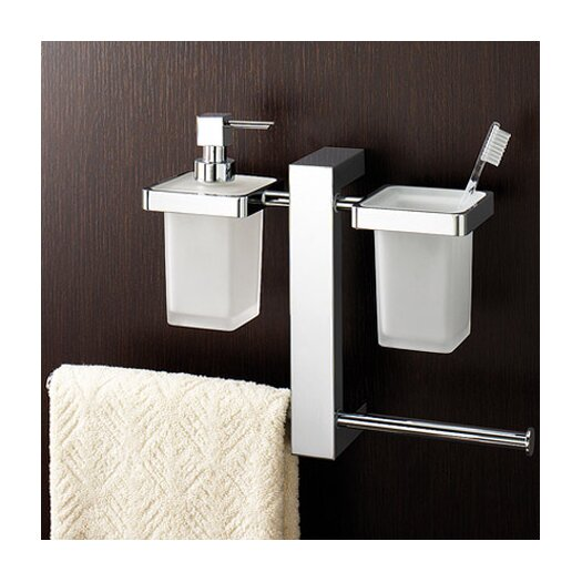 Gedy by Nameeks Bridge Wall Mounted Bathroom Butler