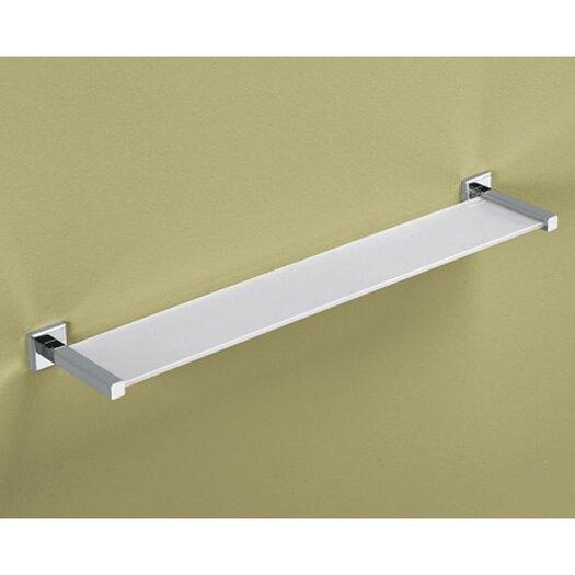 "Gedy by Nameeks Colorado 24.1"" x 1.5"" Bathroom Shelf"