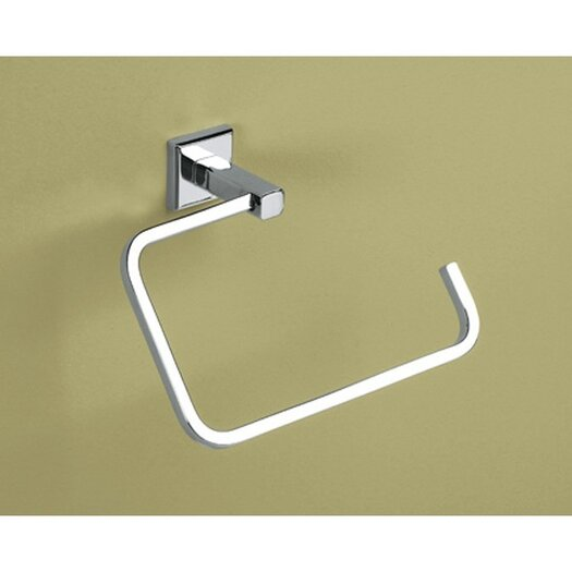 """Gedy by Nameeks Colorado 7.9"""" Wall Mounted Towel Ring"""