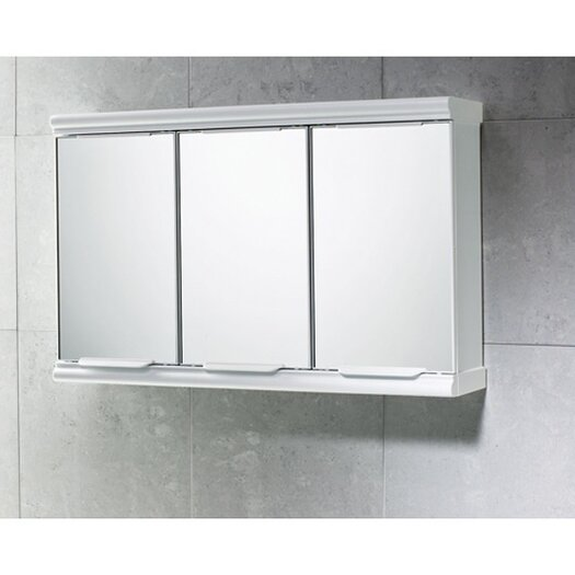 """Gedy by Nameeks Princess 23"""" x 15"""" Surface Mounted Medicine Cabinet"""