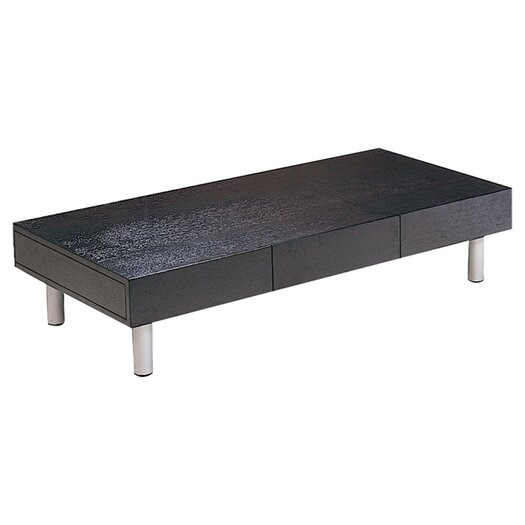 Beverly Hills Furniture Coffee Table with Drawer