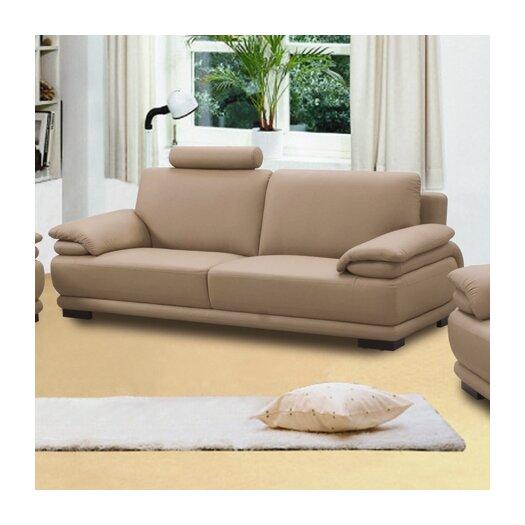 Beverly Hills Furniture Rhythm Leather Sofa