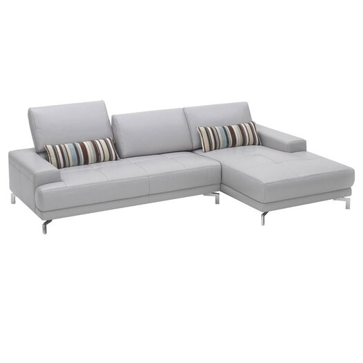 Beverly Hills Furniture Urban Leather Left- Chaise Sectional
