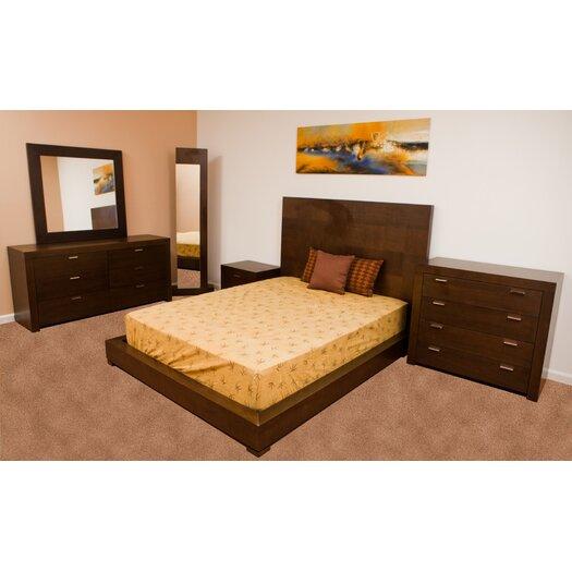 Beverly Hills Furniture Traxler Platform Bed