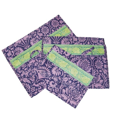 Amy Butler Safia Lingerie Envelopes in Sari Flowers