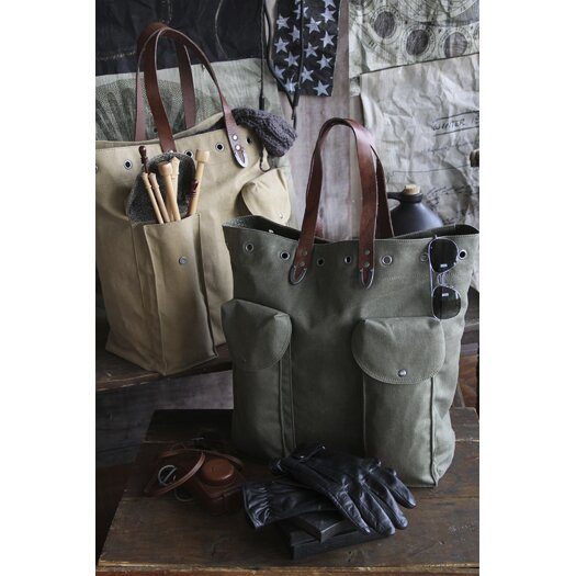 Amy Butler Parson Gray Outpost Tote Bag