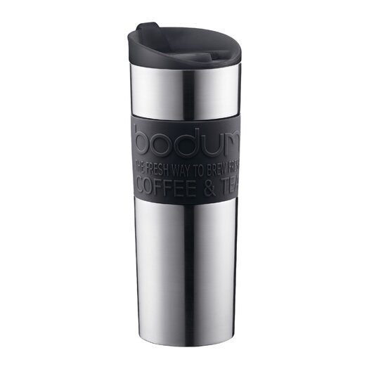 Bodum Bistro 15 Oz. Double-Walled Vacuum Travel Mug