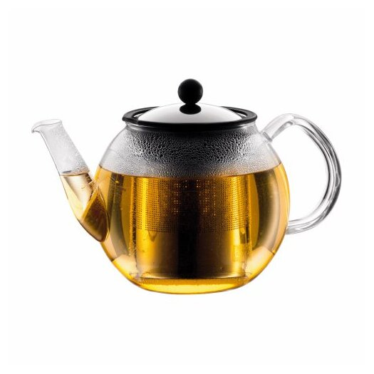 Bodum Shin Cha 1.06-qt. Tea Press with Handle and Spout and Infuser