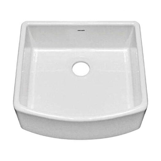 """Julien F110 23.5"""" x 21"""" Farmhouse Single Bowl Kitchen Sink"""